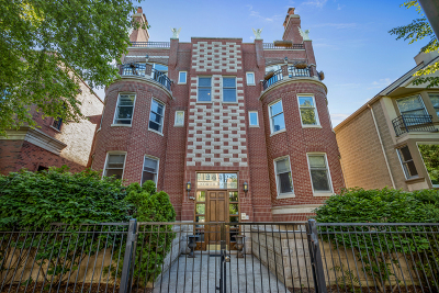 Condo/Townhouse New: 2642 North Racine Avenue #1S