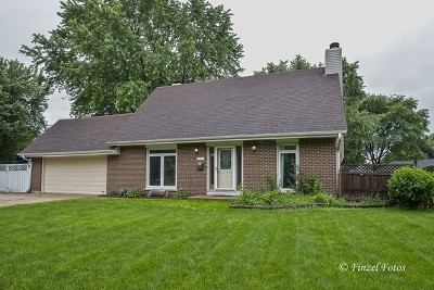 Crystal Lake Single Family Home New: 171 Lincolnshire Drive