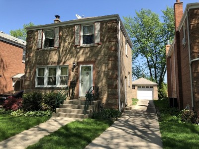 Chicago Single Family Home New: 7121 North Mason Avenue