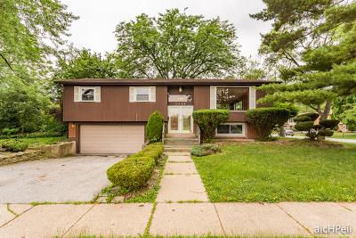Hazel Crest  Single Family Home For Sale: 3409 Hazel Lane