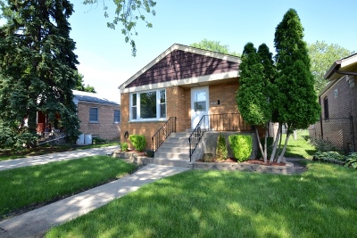 Evergreen Park Single Family Home Price Change: 8803 South Albany Avenue