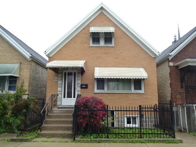 Chicago Multi Family Home For Sale: 3643 South Wolcott Avenue