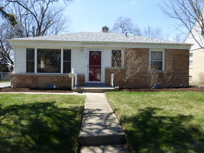 Palatine Single Family Home For Sale: 220 South Elmwood Avenue