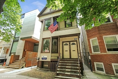 Multi Family Home For Sale: 1717 West Roscoe Street