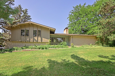 Crystal Lake Single Family Home For Sale: 4101 Oak Ridge Road