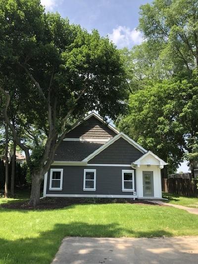 Oswego Single Family Home Price Change