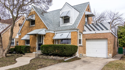 Franklin Park IL Single Family Home Price Change: $229,000