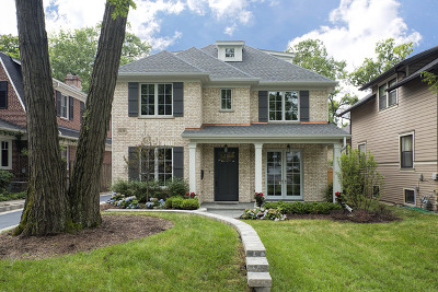 Winnetka Single Family Home For Sale: 1416 Edgewood Lane