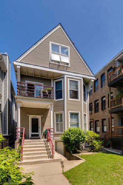Condo/Townhouse For Sale: 4707 North Hermitage Avenue #1