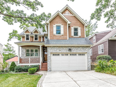 Western Springs Single Family Home Price Change: 3903 Forest Avenue