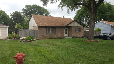 Hickory Hills  Single Family Home Re-Activated: 8427 South 83rd Avenue