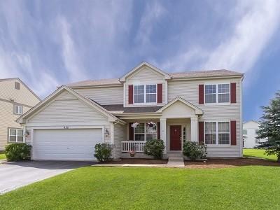 Huntley Single Family Home Price Change: 9211 Durham Drive