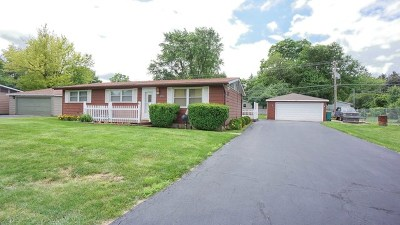 Johnsburg Single Family Home For Sale: 3705 Claremont Road