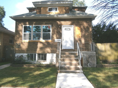 Calumet Park Single Family Home For Sale: 12324 South Carpenter Street