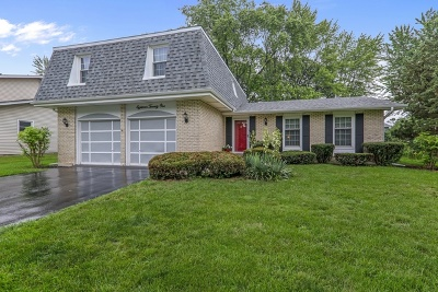 Downers Grove Single Family Home Re-Activated: 1821 Bolson Drive