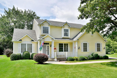Libertyville Single Family Home For Sale: 30474 North Woodridge Court