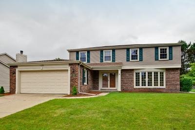 Libertyville Single Family Home Price Change: 1180 Tamarack Lane