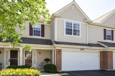 Lake In The Hills Condo/Townhouse For Sale: 2154 Daybreak Drive