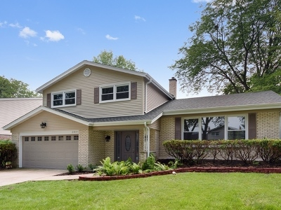 Arlington Heights Single Family Home Contingent: 2001 East Rosehill Drive