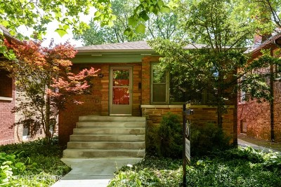 Single Family Home For Sale: 5343 North Spaulding Avenue