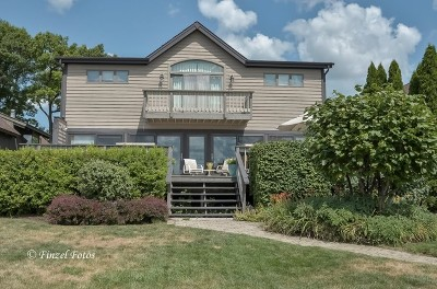 Crystal Lake Single Family Home For Sale: 161 Edgewater Drive