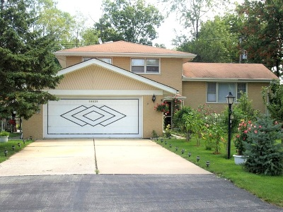 Palos Heights, Palos Hills Single Family Home For Sale: 10025 South 86th Court