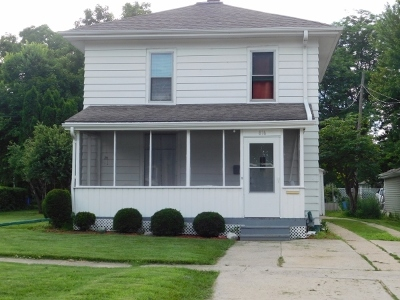 Single Family Home For Sale: 816 North 9th Street