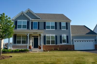 Huntley Single Family Home Price Change: 12259 Garlieb Drive