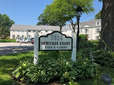 Frankfort Condo/Townhouse Price Change: 7324 Heritage Court #2H