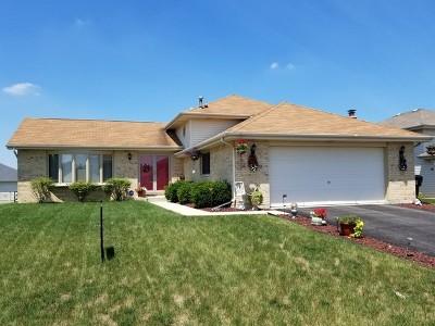 Richton Park Single Family Home For Sale: 5220 Crosswind Drive