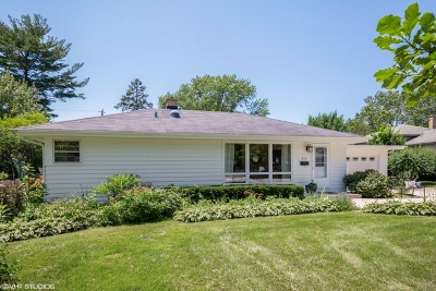 Naperville Single Family Home Contingent: 819 Magnolia Lane
