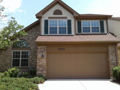 Winfield Condo/Townhouse For Sale: 0n689 Chelsea Circle