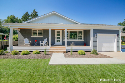 Glen Ellyn Single Family Home Price Change: 576 Summerdale Avenue