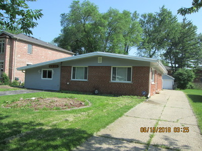 Glenview Single Family Home For Sale: 4625 Lilac Avenue
