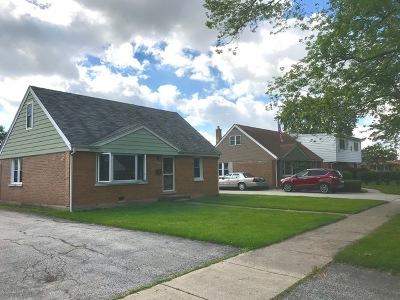 Chicago Ridge  Single Family Home For Sale: 10943 McVicker Avenue