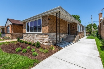 Single Family Home For Sale: 2428 West Sherwin Avenue