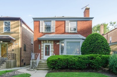 Single Family Home For Sale: 2635 West Jarlath Street