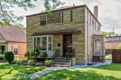 Single Family Home For Sale: 3039 West Jarlath Street