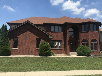 Richton Park Single Family Home For Sale: 3868 Marilyn Drive