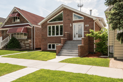 Chicago Single Family Home Re-Activated: 5546 South Mulligan Avenue