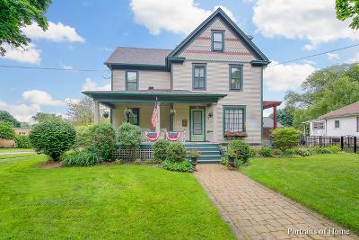 Wheaton Single Family Home For Sale: 601 South Wheaton Avenue