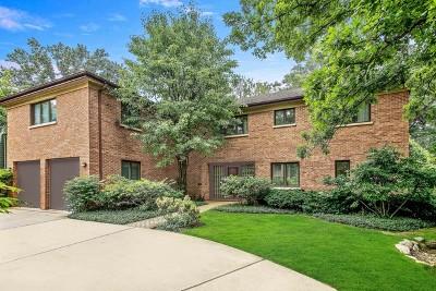 Winnetka Single Family Home Price Change: 127 Fuller Lane
