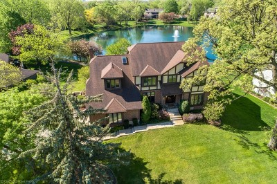 Glen Ellyn Single Family Home For Sale: 869 Baker Court