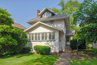 Oak Park Single Family Home For Sale: 838 North Kenilworth Avenue