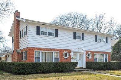 Wilmette Single Family Home For Sale: 3101 Melrose Court