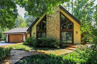 Libertyville Single Family Home For Sale: 15445 West Oak Spring Road