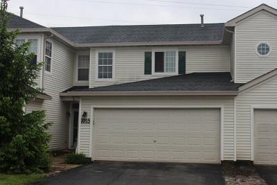Romeoville Condo/Townhouse For Sale: 1025 Key Largo Drive