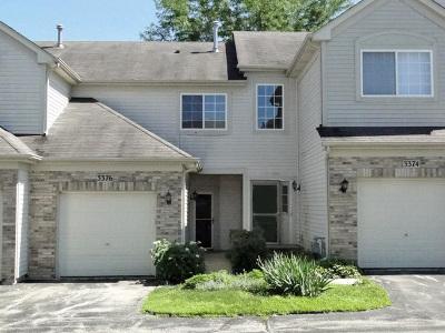 Carpentersville Condo/Townhouse For Sale: 3376 Blue Ridge Drive