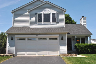 Romeoville Single Family Home For Sale: 72 Olde English Drive