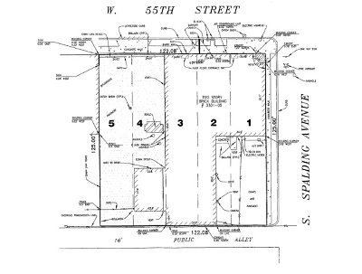 Chicago Residential Lots & Land For Sale: 3301 West 55th Street